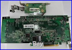 Areca 2GB RAM ARC-1680IX 24-Port w BBU PCIe X8 SATA SAS RAID Controller