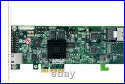 Areca ARC-1203-4i 4 port PCIe 2.0 SATA RAID Adapter, SFF-8087 to SFF-8087 Cable