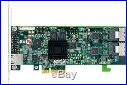 Areca ARC-1203-8i 8-Port Internal PCIe 2.0 x4 6Gb SATA RAID