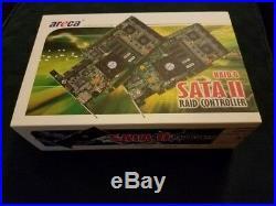 Areca ARC-1220 PCI-Express x8 8-port SATA II (3.0Gb/s) RAID Controller Card