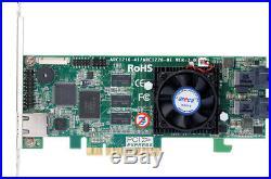 Areca ARC-1226-8i 8-Port Internal PCIe 3.0 x8 12Gb SATA/SAS RAID