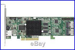 Areca ARC-1264IL-12 12-Port Internal PCIe 2.0 x8 6Gb SATA/SAS RAID