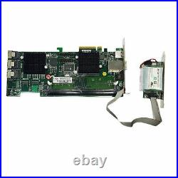 Areca ARC-1680ix-12 512MB SAS SATA PCIe Online 12 Port 4 External RAID Card /BBU