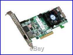 Areca ARC-1880I 8-Port Low Profile PCI-E x8 512MB SAS/SATA RAID Controller
