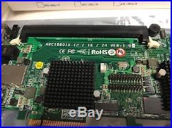 Areca ARC 1880IX 16 RAID SATA 6Gb/s / SAS PCIe 2.0 2GB Cache wie NEU OVP Zubehör