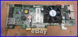 Areca ARC-1882I PCIe 2.0 x8 6Gb/s 8-Port Low Profile SATA / SAS RAID Card