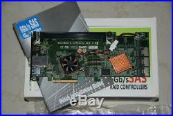 Areca ARC-1882IX-12 1GB VER 3 PCIe 3.0 x8 4 + 12 Ports 6Gb/s SAS/SATA RAID Card