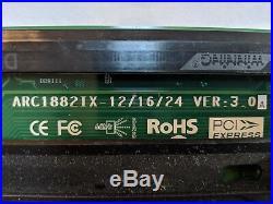 Areca ARC-1882IX-12 4GB Cache PCIe 3.0 x8 4 + 12 Ports 6Gb/s SAS/SATA RAID Card
