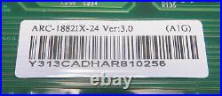 Areca ARC-1882IX-24 1GB 24-Port 6Gb/s SATA/SAS PCIe 3.0 RAID Controller Card