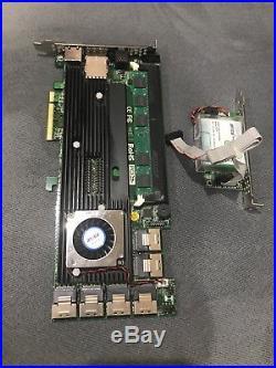 Areca ARC-1882IX-24 4GB PCIe 3.0 x8 24+4 Ports 6Gb/s SAS/SATA RAID Card