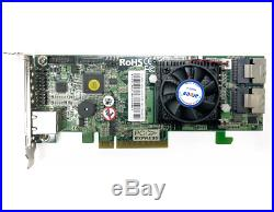 Areca ARC-1882i 8 Ports Dual Core PCIe 3.0 6Gb/s SAS/SATA RAID Controller