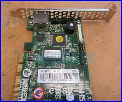 Areca ARC-1883i 8-Port Internal PCIe 3.0 x8 12Gb SATA/SAS RAID