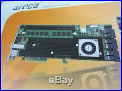 Areca ARC-1883ix-24 24/4-Port Internal/External PCIe 3.0 x8 12Gb SATA/SAS RAID