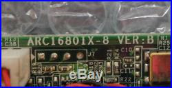 Areca ARC1680IX-8 8-Port SAS / SATA RAID PCI-e Card Full Profile Bracket