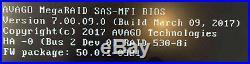 Avago 9400-8i (Lenovo 530-8i) 12Gbps Tri-Mode SAS SATA NVMe HBA RAID Controller
