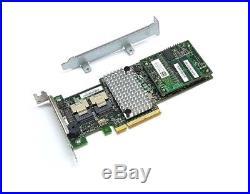 Avago LSI Megaraid SAS 9265-8i SATA / SAS 1GB Controller RAID 5 6G PCIe x8 2.0