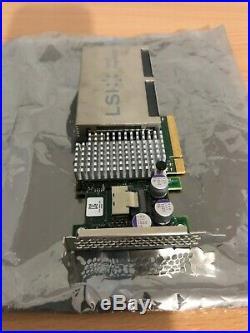 Avago LSI Nytro MegaRAID NMR8110-4i PCIe SATA/SAS RAID Controller w 200GB SSD