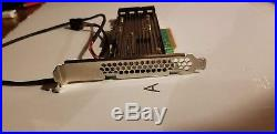 Broadcom MegaRAID 9460-16i PCIe SATA/SAS Raid Controller Card (4GB cache) 12GB/s