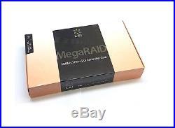 Broadcom Megaraid SAS 9361-8i SATA / SAS 1GB Controller RAID 12G PCIe x8 3.0 NEU