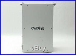 Caldigit Hdpro 4tb 731215 External SATA 3.5 Hard Drive Array Raid Tower Mac/pc