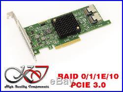 Controleur PCIE 3.0 SATA et SAS 8 ports MEGARAID 9217-8i RAID 0 1 10 1E