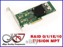 Controleur PCIE SATA III et SAS 8 ports FUSION MPT 9211-8i RAID 0 1 1E 10