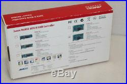 Contrôleur de RAID SATA II AMCC 3WARE 9650SE-16ML PCI DE PCI-E Express 8x