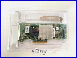 DELL 8WKHG Adaptec ASR-8805 PCI-E 3.0 SAS/SATA/SSD RAID 12Gb/s Controller Card