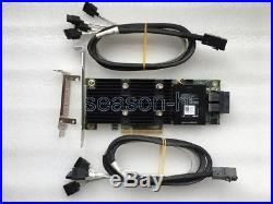 DELL PERC H730P Adapter 12GB/S 2GB PCI-E 3.0 controller raid card+8643 To 4SATA