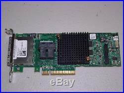 Dell 00KT1V Adaptec ASR-78165 24-Port SAS/SATA 6Gb/s PCIe 8x 3.0 LP RAID card