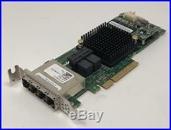Dell Adaptec ASR-78165 24-Channel SAS/SATA Controller RAID 6Gb/s PCIe LP 0KT1V
