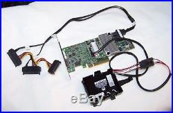 Dell (MM445) 12GB 8-Port PCI-E SATA/SAS (LSI 9361-8i) RAID Card with BBU & Cable