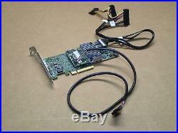 Dell MegaRaid 9361-8i 12Gbps SAS/SATA PCIe 3.0 RAID Controller Card DP/N MM445