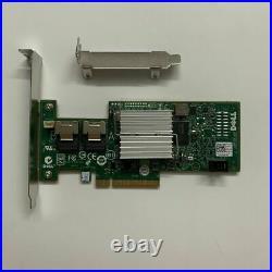 Dell PERC 47MCV H200 6Gb PCI-e SAS SATA 8-Port Raid Controller