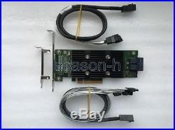 Dell PERC H330 8PORT 6/12GB PCI-E RAID0.1.5. JBOD+8643 to 4SATA to 4 SATA