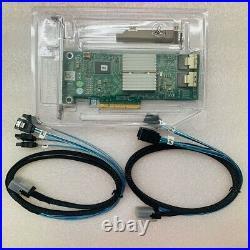 Dell Perc H310 SATA / SAS Controller RAID 6Gbps PCIe x8 +2PCS 8087 SATA cable