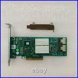 Dell Perc H310 SATA / SAS HBA Controller RAID 6Gbps PCIe x8 = LSI 9240-8i M1015