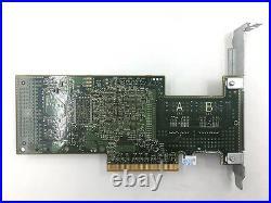 Dell U039M PERC H200 PCI-e 6Gb/s SAS/SATA RAID Controller Card