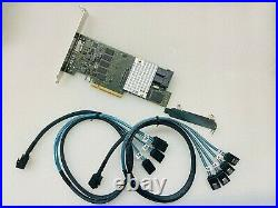 Fujitsu D3216-A12 RAID Controller Card 12GB/s PCI-E 3.0 1GB+2SFF8643 SATA