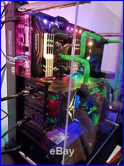 Gaming Desktop PC, i9-7900x, 64GB, 2x 1080Ti SLI, 1TB PCIe SSD, 2TB SSD SATA RAID0