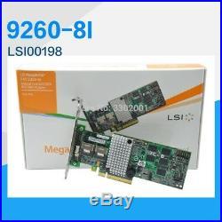 Genuine Retail LSI LSI00198 MegaRAID SAS 9260-8i 6Gbp/s SAS SATA PCIe RAID Card