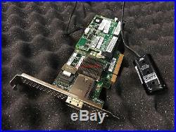 HP Smart Array P222 1GB Cache SATA / SAS Controller RAID 6G PCIe x8 3.0 FBWC