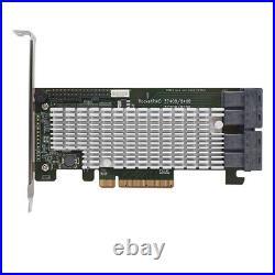 High Point RR2840A PCI-E 3.0 x8 SATA / SAS 6Gb/s PCIe 3.0 x8 SAS / SATA RAID HBA