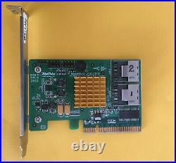 HighPoint ROCKETRAID RR2720SGL 8xPort SAS SATA PCIe RAID Controller Card