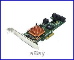 HighPoint RocketRAID 2320-LF SATA-2 PCI-E RAID Controller Host Adapter 8-Channel