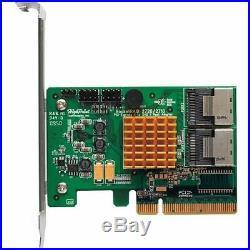 HighPoint RocketRAID 2720 PCIE 2.0 x8 SATA / SAS Raid Controller RR2720 RR2720A