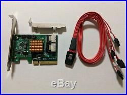 HighPoint RocketRAID 2720SGL 6Gb/s 8-Port SAS SATA PCI-E RAID Controller