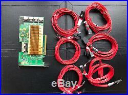 HighPoint RocketRAID 2760A/2782A 24 -Port PCIe 2.0x16 SAS/SATA 6Gb/s RAID contro