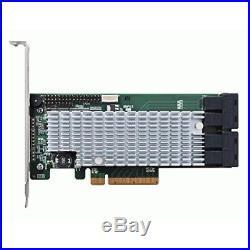 HighPoint RocketRAID 2840A PCIe 3.0 x8 16-Channel 6Gb/s SAS/SATA RAID Host Bus A