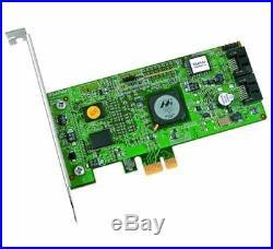 HighPoint RocketRAID 3120 2-Channel PCI-Express x1 SATA 3Gb/s RAID Controller